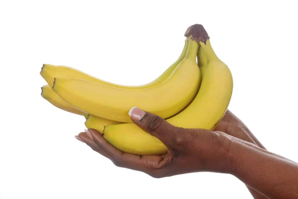 bananas are a great fruit to start weaning with
