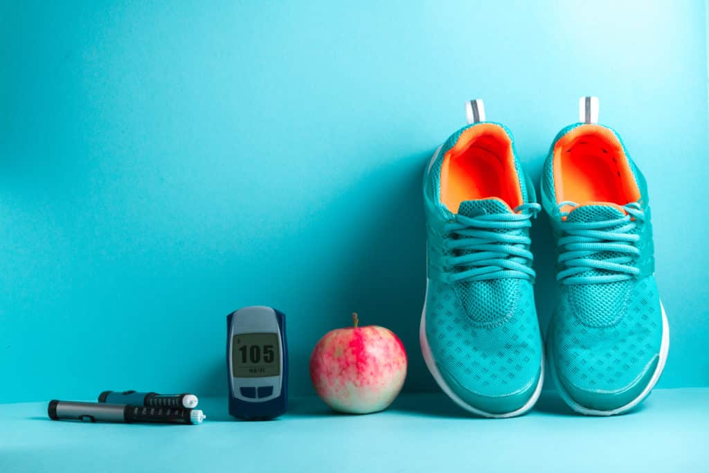 Diabetes can be managed with exercise and healthy eating