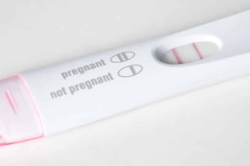 pregnancy result