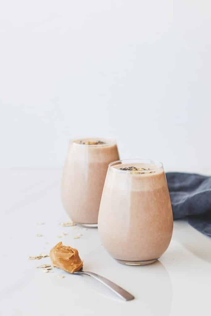 Peanut butter prune smoothie recipe