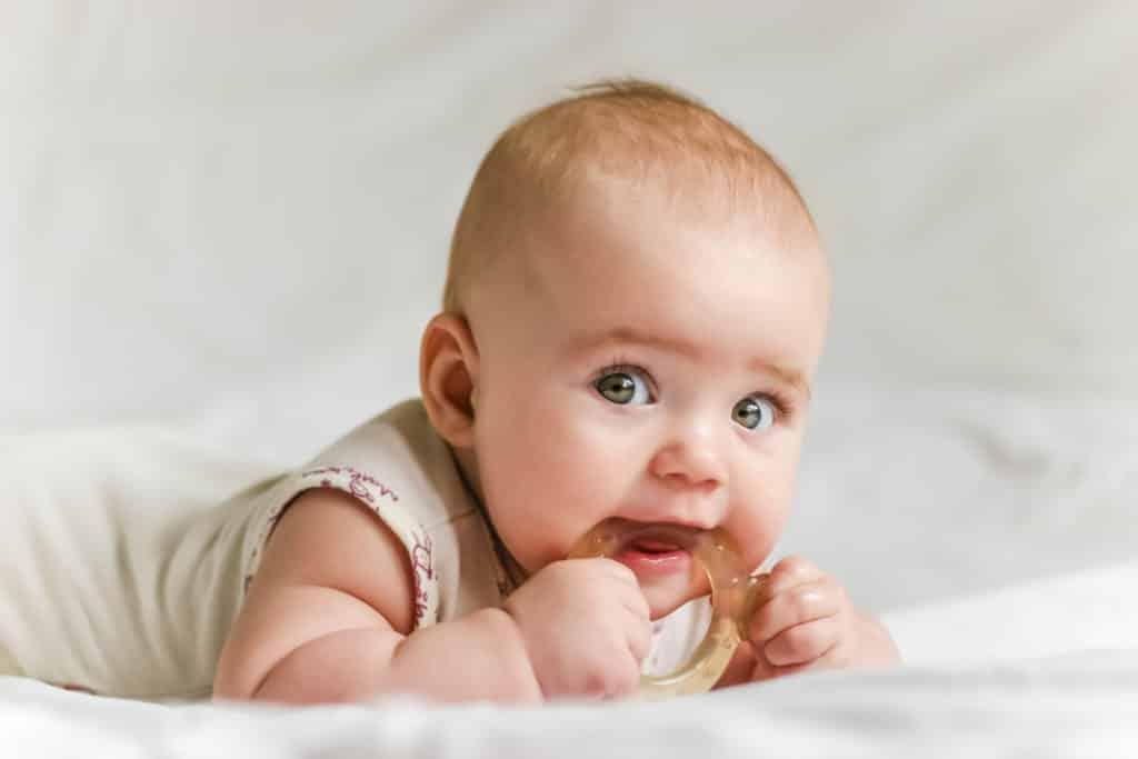 Baby grinding teeth