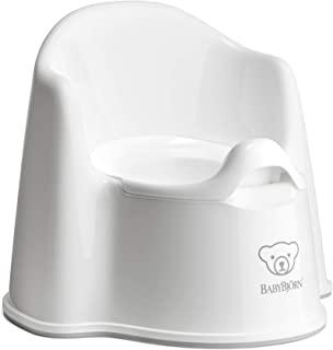 White baby bjorn potty