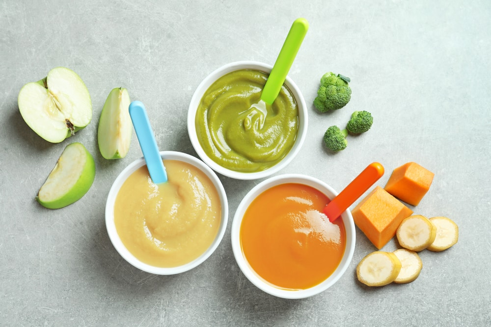 baby food stages
